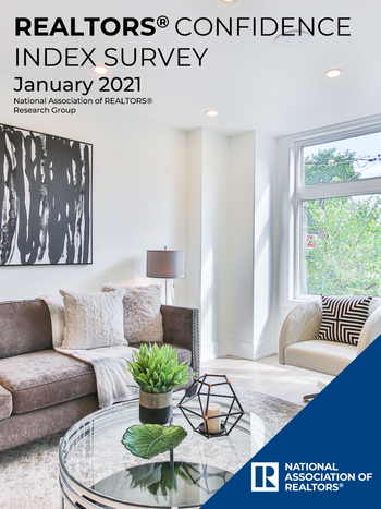 REALTORS Confidence Index January 2021 Cover