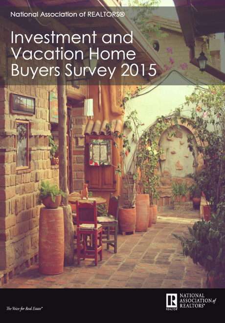 2015 NAR Investment and Vacation Home Buyers Survey