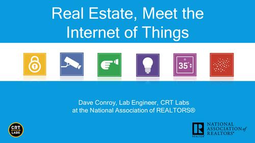 Real Estate: Meet the Internet of Things Webinar