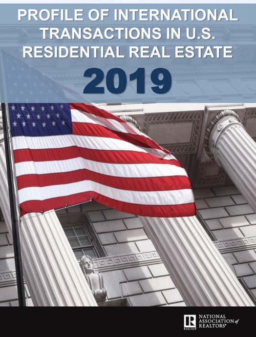 2019 Profile of International Transactions in U.S. Residential Real Estate (Download)