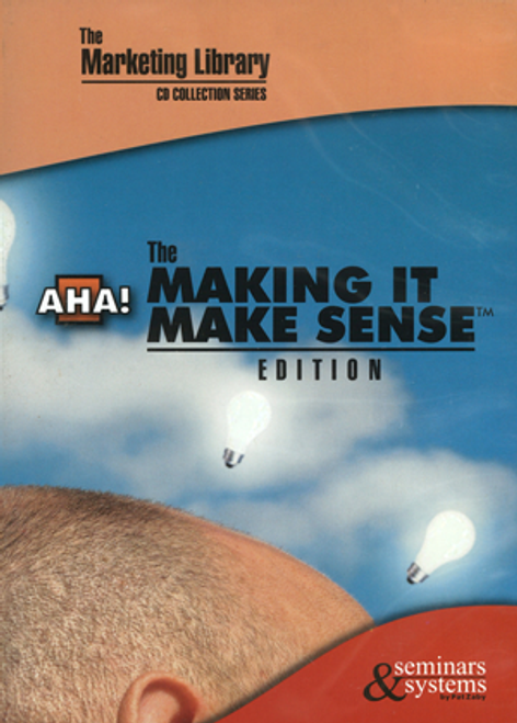 Making it Make Sense (by Pat Zaby)