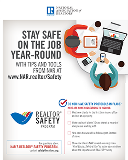 REALTOR® Safety Program Poster-Download
