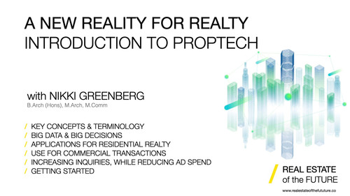 A New Reality for Realty: An Introduction to PropTech Webinar