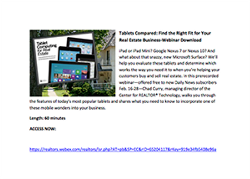 Tablets Compared: Find the Right Fit for Your Real Estate Business