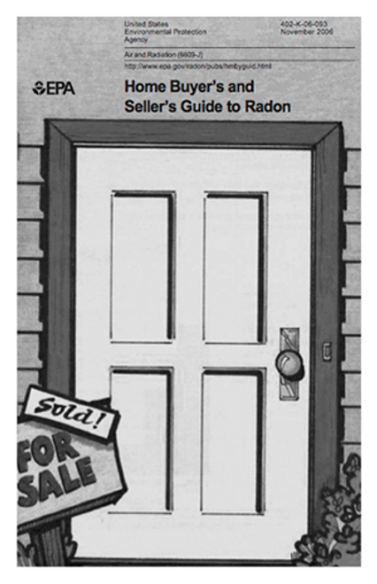 Home Buyer's and Seller's Guide to Radon (Printed Guide)