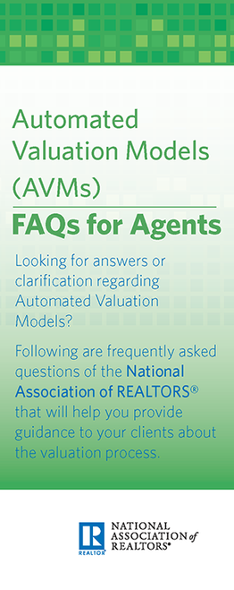 Automated Valuation Models (AVMs): FAQs for Agents-Download