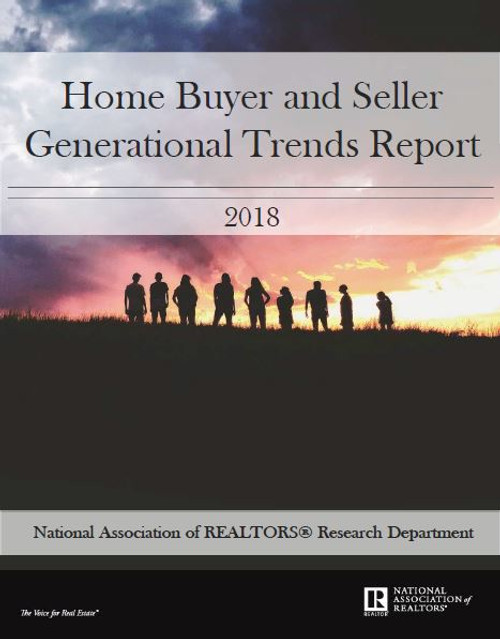 2018 NAR Home Buyer and Seller Generational Trends Report-Download