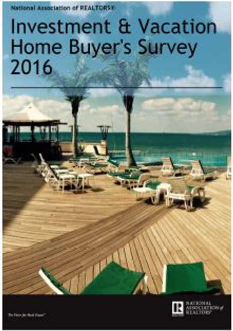 2016 NAR Investment and Vacation Home Buyers Survey