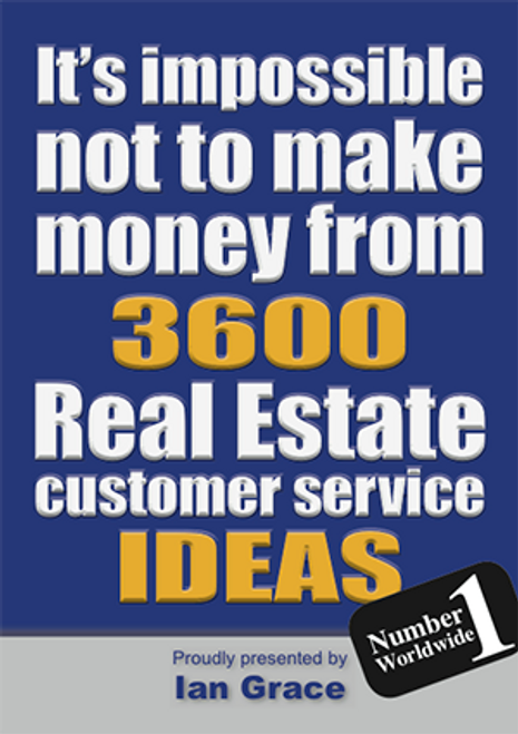 3600 Real Estate Customer Service Ideas - Download