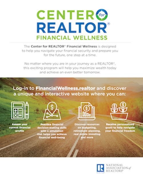 Center for REALTOR Financial Wellness (CFFW) Poster - Download