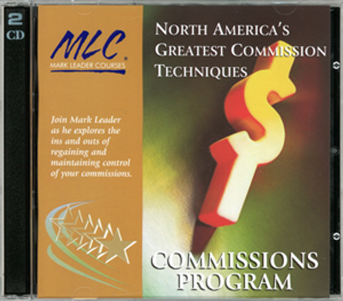 North America's Greatest Commission Techniques (by Mark Leader)