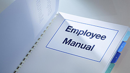 Sample Employee Manual for Association Executives-Download