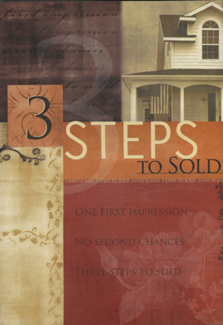 3 Steps to Sold DVD