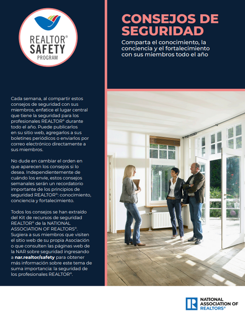 56 Tips on Safety Best Practices - Digital Download (Spanish Version)