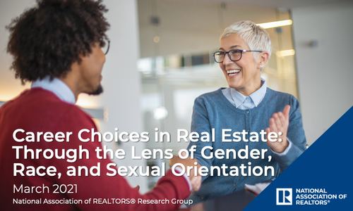 2021 Career Choices in Real Estate: Through the Lens of Gender, Race, and Sexual Orientation Report