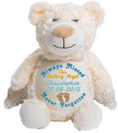 Personalised Remembrance Angel Bear Cubby