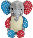harlequin blue elephant cubby birth design