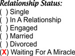 11oz Fun Mug -Relationship Status