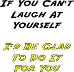 11oz Fun Mug - Laugh At Yourself