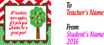 11oz Teacher Thank You Mug - Apple Tree