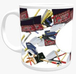 11oz Personalised Mug - Random Themed Background
