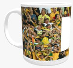 11oz Personalised Mug - Sports Themed Background
