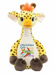 Cubby Signature Giraffe  birth design