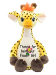 Personalised Cubby – Signature Giraffe