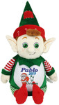 A personalised Christmas Gift Green Elf Cubby