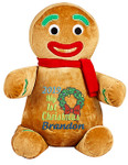 Gingerbread Man cubby from Personalised Teddy Bears and Gifts