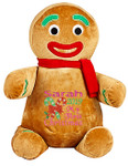 Gingerbread Man cubby with a custom christmas design