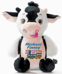 Signature Cow Cubby baby gift