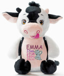 Signature Cow Cubby personalised baby present