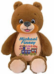 Personalised Signature Bear Cubby Birth Designs