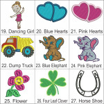 Personalised Bebi Beau Car Motif