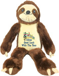 gift Personalised Message Bear - Bebi Beau Sloth
