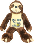 Personalised  gift Message Bear - Bebi Beau Sloth