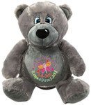 Personalised Grey Bear Birth Designs