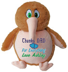 Message Bear - Personalised gift Brown Kiwi