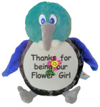Personalised gift Message Bear - New Zealand Tui