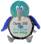 gift Personalised Message Bear - New Zealand Tui