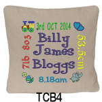 personalised Oatmeal cushion cover will last for ages