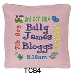 personalised Pink cushion cover will last for ages