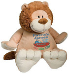 Personalised Embroider Buddy - Lion (Birth Design)