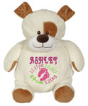 Personalised Embroider Buddy - Pauly Puppy (Birth Design)