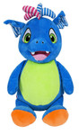 Personalised Hug-Me Cubby - Signature Blue Dragon with a personalised message