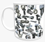 Personalised Mug - Mineral Themed Background