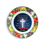 Wild Berry Rim Remembrance Plate - Stillborn/Miscarriage