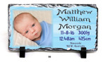 Personalised Birth Design - 160x300mm Slate Print