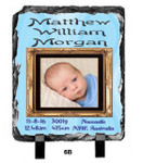 Personalised Birth Design - 197x300mm Slate Print